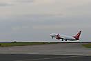 Erfurter Flughafen - Flugzeugstart hautnah